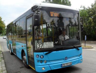"""Автобусите с номера 17, 24 и 37 ще се движат с променени маршрути.  Снимка: ОП """"Организация и контрол на транспорта"""""""