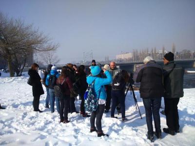 Любителите на птиците наблюдаваха голям корморан, малък гмурец, жълтокрака чайка, сива патица, зеленонога и белочела водна кокошка.  Снимка: РИОСВ - Пловдив