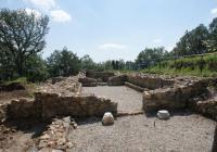 """Финансирането на проекта за възстановяване на античната крепост е осигурено от ОП """"Регионално развитие"""". Снимка Министерство на културата"""