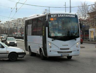 Променят се маршрутите на автобусите по линии 1, 16 и 36.  Снимка: Община Пловдив