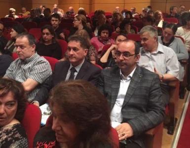 """Делегатите на Общото събрание избират нов ректор след двата мандата на проф. Козлуджов.  Снимка: ПУ """"Паисий Хилендарски"""""""