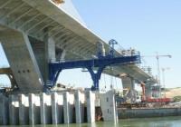 Мостът при Видин-Калафат трябва да е готов до края на годината. Снимка danubebridge2.com