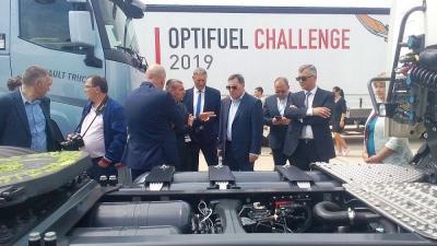 Световните лидери в индустрията за търговски превозни средства ще се съберат в Града под тепетата, за да покажат най-новите автомобилни концепции, технологии, бъдещето в дизайна на продуктите и ефективността.   Снимката е предоставена от организаторите