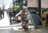 Особено актуалните в последно време соларни системи са сред иновациите на изложението.