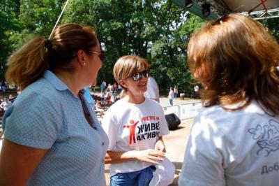 Екатерина Дафовска не за пръв път застава зад инициативата.   Снимката е предоставена от организаторите.