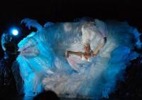 Представлението бе истинска феерия от движение, звуци и светлини. Снимка Община Бургас