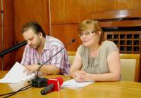 Зам.-кметът Йорданка Ананиева и директорът на бургаската Опера Александър Текелиев разясниха подробности за фестивала. Снимка Община Бургас