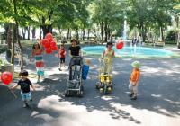 В Приморския парк бургазлии вече се разхождат по прясно асфалтирани алеи. Снимка Община Бургас
