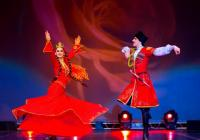 """Танците на """"Лезгинка"""" са изключително красиви и завладяващи. Снимка Община Бургас"""