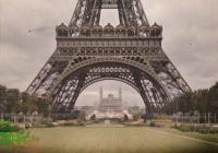 Кан не е подминал и символа на Париж. Снимката е предоставена от Община Бургас