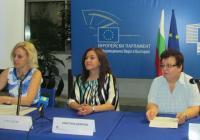 Експерти от транспортното министерство разясниха възможностите за кандидатстване в рамките на Информационен ден в столицата. Снимка МТИТС