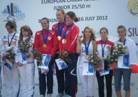 Нашите момичета се качиха на стълбичката редом с норвежките и рускините.