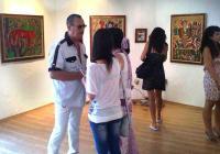 Руско-американският художник излага творбите си по целия свят, а сега и в Пловдив. Снимка Aspekti.info