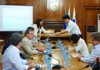 Гостите посетиха Бургас, за да се запознаят отблизо с проектите и възможностите за инвестиции в града. Снимка Община Бургас