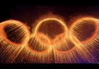 Петте олимпийски кръга изгряха над Лондон.