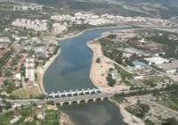 """Т.нар. """"Водно огледало"""" в Кърджали беше открито през 2009 г., без тогавашното правителство да се разплати за строителството му. Снимка razkritia.com (архив)"""