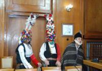 Автентични кукери от с. Вресово изпълниха ритуал за здраве и благополучие. Снимка Община Бургас