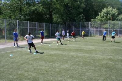 """Националите от """"Отбор на надеждата"""" се подготвят като истински професионалисти за първенството в Мексико през октомври.  Снимка nacionalite.org"""