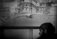 Творбите пресъздават ситуации от живота на монасите в Света гора. Снимка Община Бургас