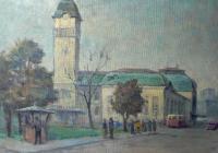 В родния си Бургас художникът получава най-голямо признание. Снимка Община Бургас