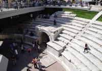 Със средства от Норвежкия финансов механизъм стана възможен и новият облик на Римския стадион в Пловдив. Снимка Aspekti.info (архив)