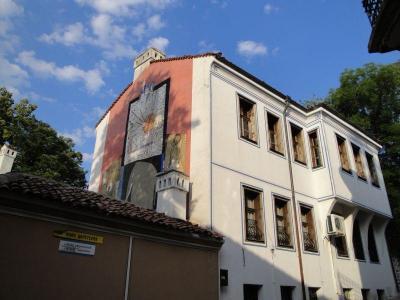 Експозицията ще остане в емблематичната къща в Стария град до 10 октомври.  Снимка Aspekti.info (архив)